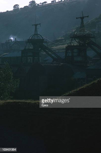 View of the Six Bells Colliery, Gwent, September 1969. In June 1960 45 men lost their lives when a gas and coal dust explosion occurred. The pit shut...