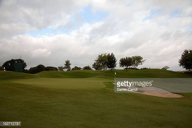 A view of the sixth hole during the HP Byron Nelson Championship at TPC Four Seasons Resort Las Colinas on May 21 2010 in Irving Texas