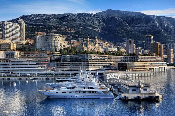 View of The Skyline And Casino De Monte-Carlo, Monaco