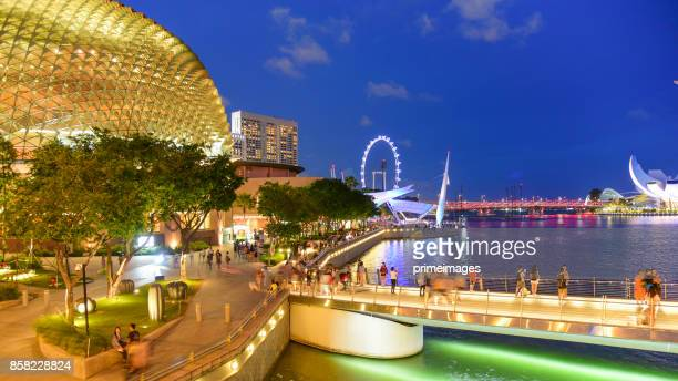 view of the skyline of singapore downtown cbd - primeimages stock pictures, royalty-free photos & images