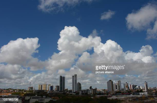 A view of the skyline of the coastal city of Natal Brazil 8 Decmber 2013 The city of Natal is one of the cities which will host the matches for the...