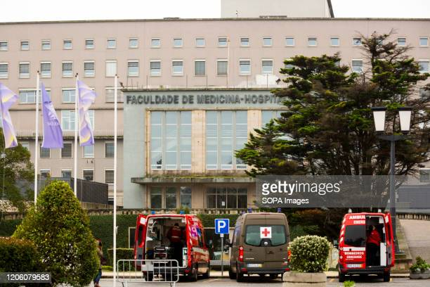 View of the São João Hospital with ambulances A National Institute of Medical Emergency field hospital was decided to be set up to facilitate...