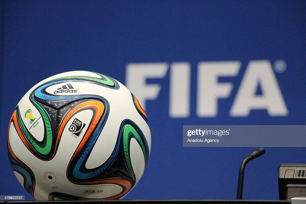 Joseph Sepp Blatter Holds Press Conference : News Photo