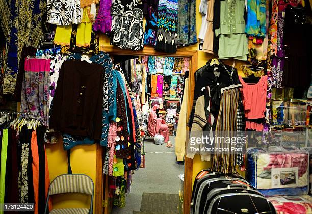 A view of the Somali clothing store inside a Somali mall in Minneapolis Minn on Saturday March 30 2013