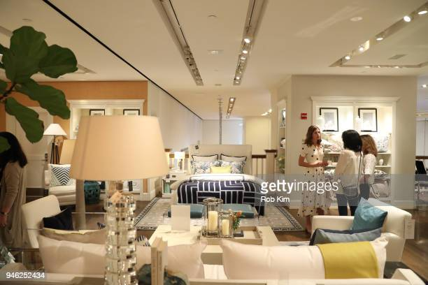 A view of the space at 'Siriously Delicious' by Siri Daly book launch event at Williams Sonoma Columbus Circle on April 14 2018 in New York City