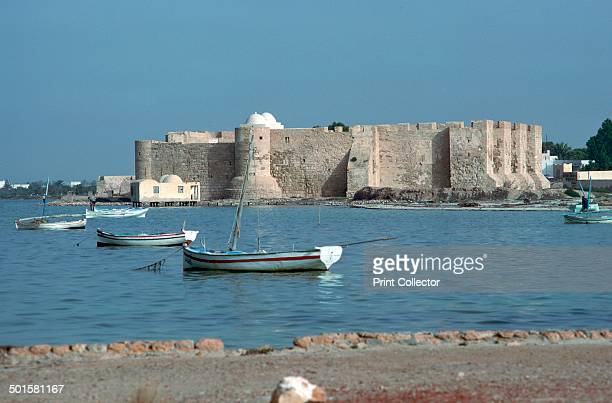 View of the Spanish fort Borj el Kebir built in 1289 and with later additions by arabs 13th centruy