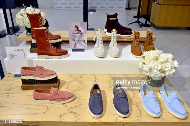View of the Sperry x John Legend Collection Launch at Nordstrom at the Grove on September 20, 2021 in Los Angeles, California.