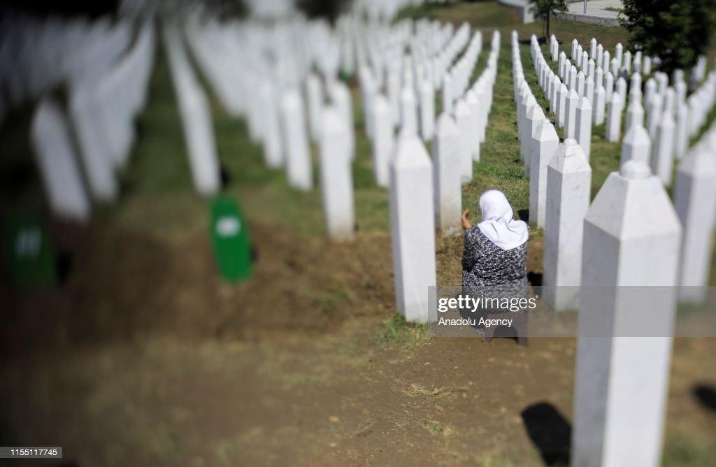 24th anniversary of Srebrenica Genocide : News Photo