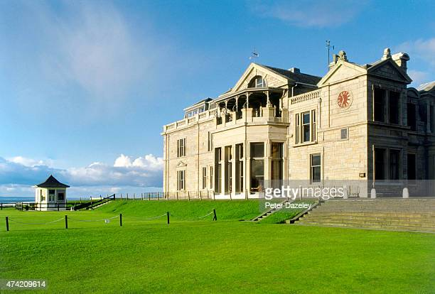 View of the St Andrews Clubhouse at the St Andrews Golf Course on July 1987 in St Andrews,Scotland.