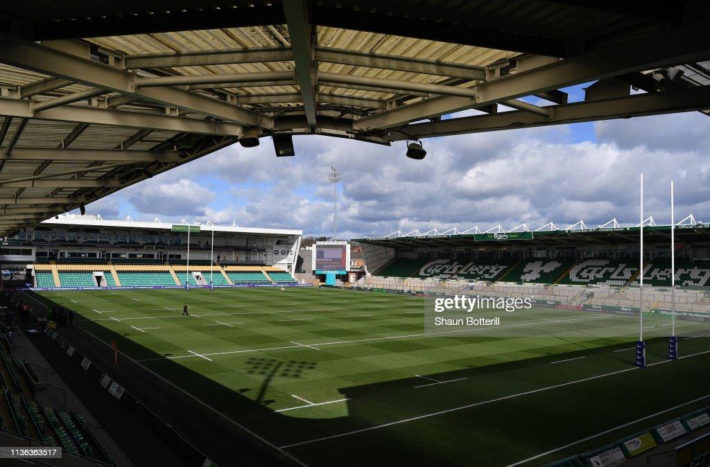 GBR: Northampton Saints v Saracens - Premiership Rugby Cup Final