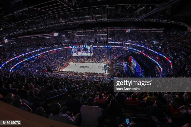 View of the stadium from above during the NBA AllStar Game between the Eastern Conference and the Western Conference on February 19 at Smoothie King...