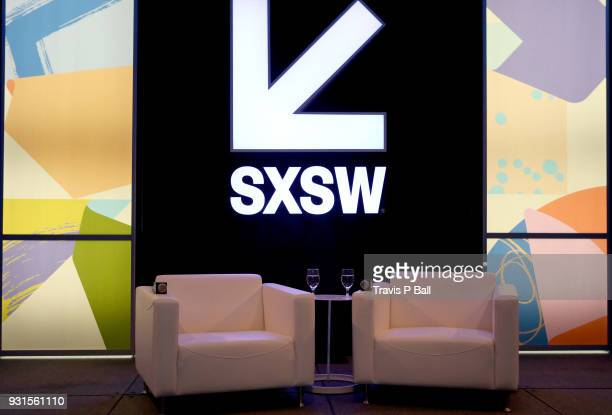 A view of the stage during SXSW at Austin Convention Center on March 13 2018 in Austin Texas