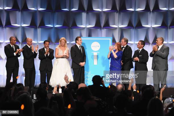 A view of the stage from the audience during the 13th Annual UNICEF Snowflake Ball 2017 at Cipriani Wall Street on November 28 2017 in New York City