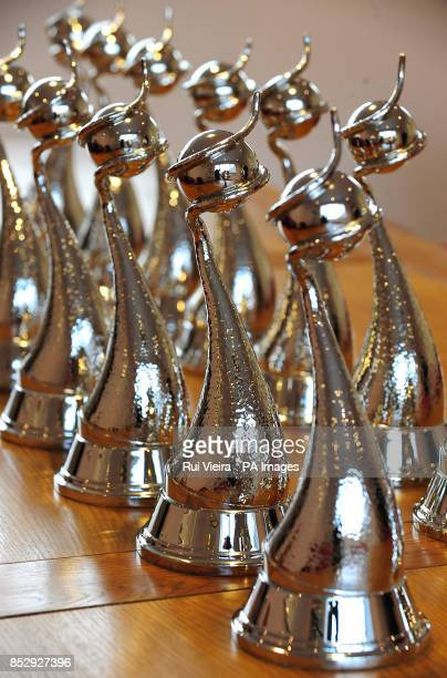 A view of the standard awards platinum for the National Television Awards at Fattorini Regent Street Works Birmingham