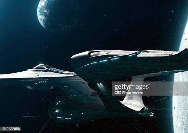 A view of the Starship Enterprise in the 2013 movie Star Trek Into Darkness Release date May 16 2013 Image is a screen grab
