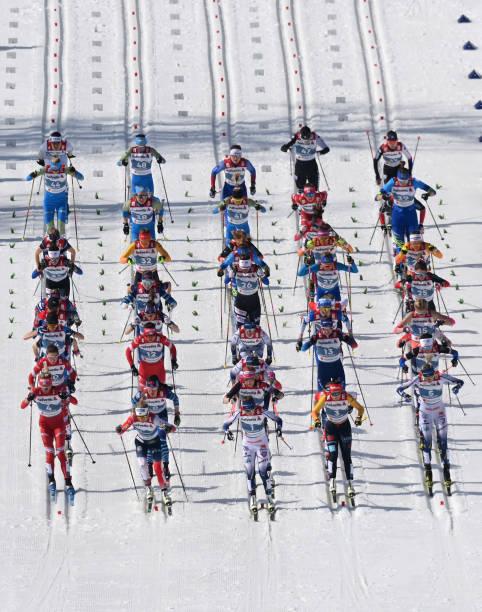 DEU: FIS Nordic World Ski Championships Oberstdorf - Women's Cross Country 30km Mst