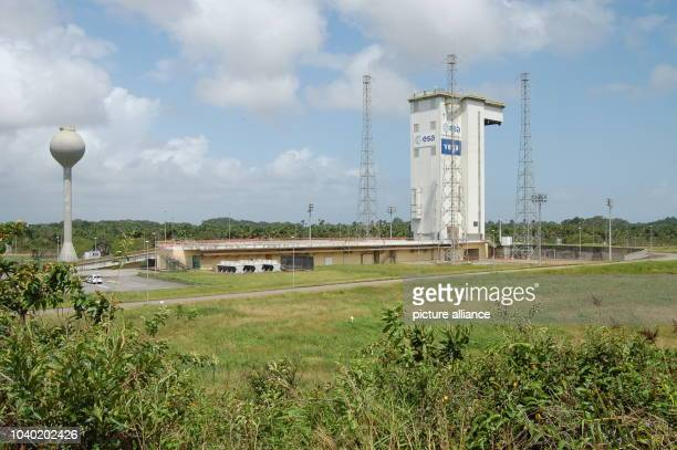 View of the starting ramp for an Ariane rocket at the Guiana Space Centre in Kourou French Guiana 6 March 2017 Photo Martina Herzog/dpa | usage...