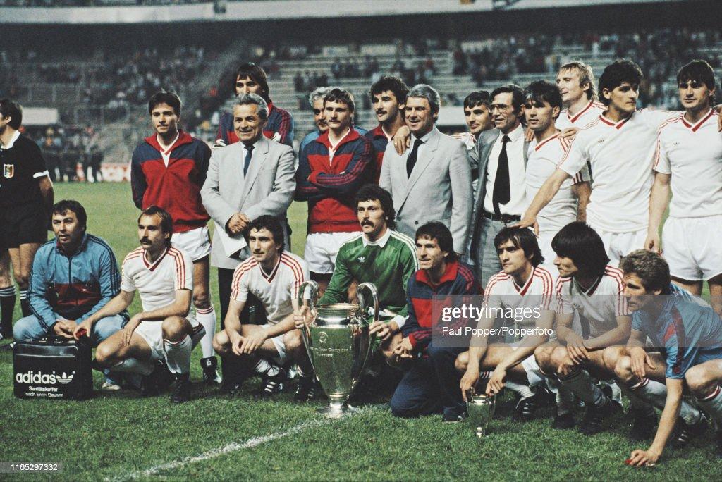 Steaua Bucuresti Win 1986 European Cup Final : News Photo