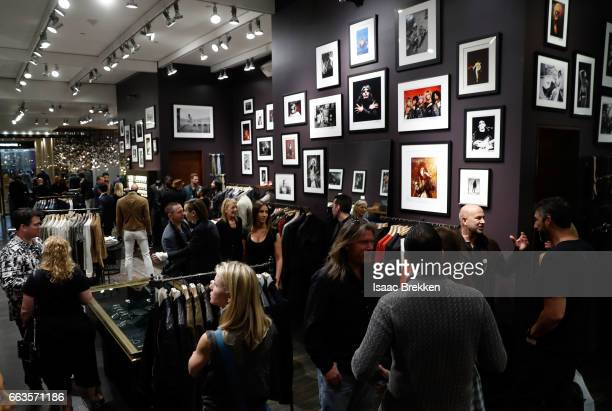 A view of the store duirng the John Varvatos spring VIP cocktail party on April 1 2017 in Las Vegas Nevada