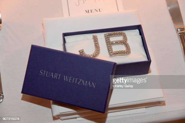 View of the Stuart Weitzman shoe clip at the Opening of Beverly Hills Boutique with a private VIP dinner hosted by Giovanni Morelli Stuart Weitzman...
