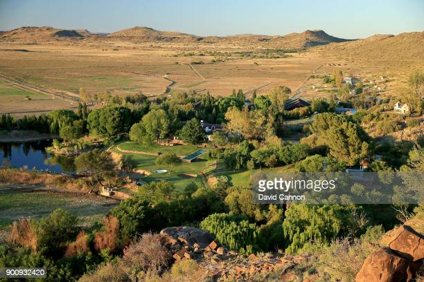 A view of the stud farm home of Gary Player of South Africa the legendary golfer on November 29 2013 in Colesberg South Africa