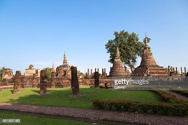 View of the Sukhothai Historical Park