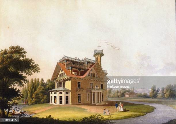View of the summer house of Prince Nikolai Abramovich Putyatin at Kleinzschachwitz near Dresden 1811 Private Collection