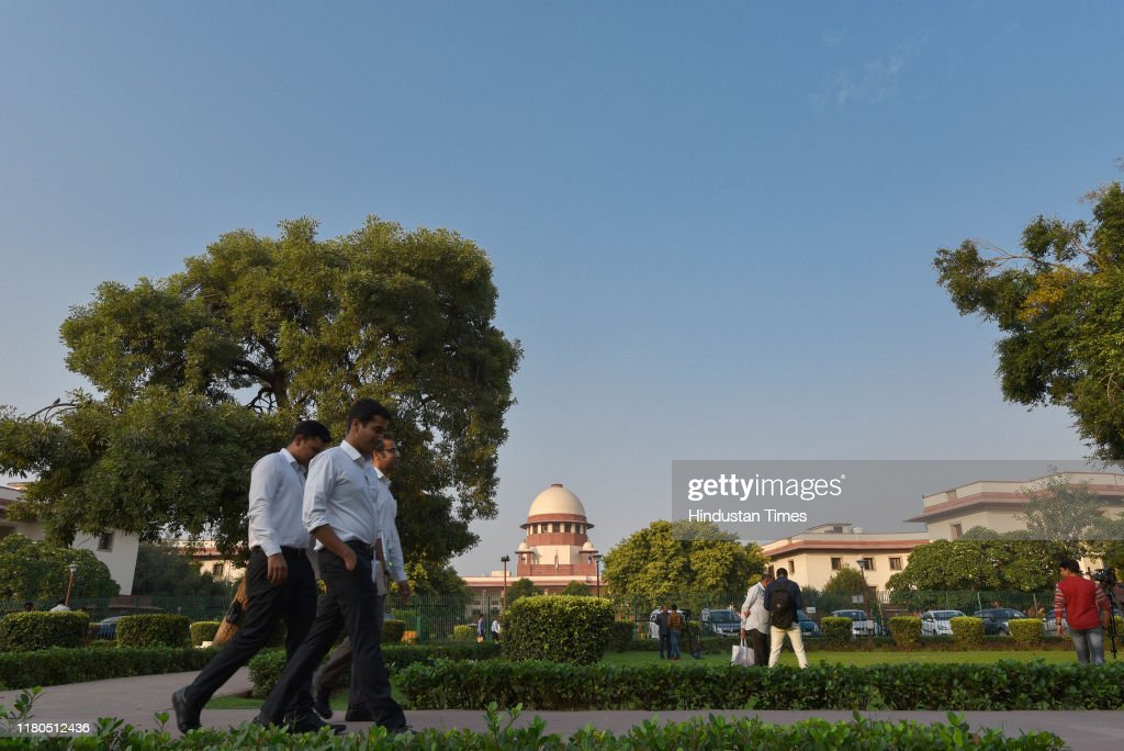 Supreme Court Of India : News Photo