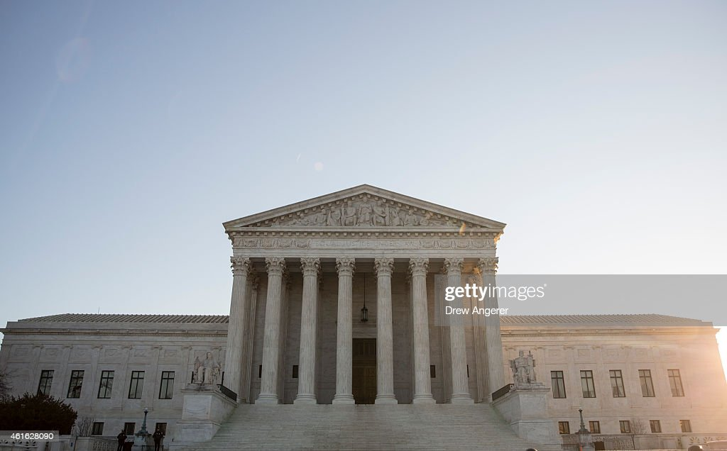 Supreme Court Meets In Closed Conference To Decide On Hearing Same-Sex Marriage Cases From Several States : News Photo
