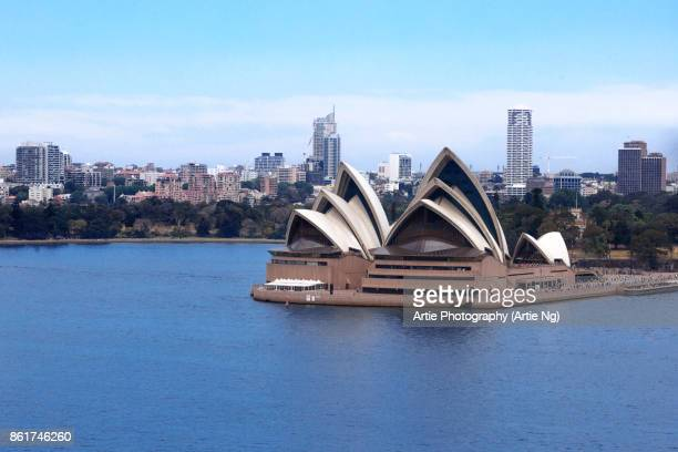 View of the Sydney Opera House, New South Wales, Australia