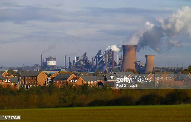 CONTENT] A view of the Tata Steelworks in Scunthorpe UK The largest steel making plant in the UK and apparently the largest industrial site in the UK...