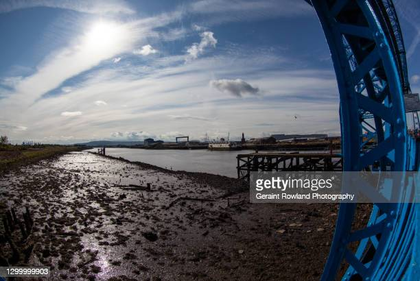 view of the tees - middlesbrough stock pictures, royalty-free photos & images