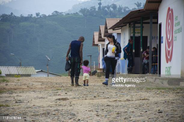 A view of the Territorial Areas for Training and Reintegration TATR implemented two years ago in the municipality of Anori Antioquia Colombia when...