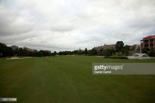 A view of the third hole during the HP Byron Nelson Championship at TPC Four Seasons Resort Las Colinas on May 21 2010 in Irving Texas