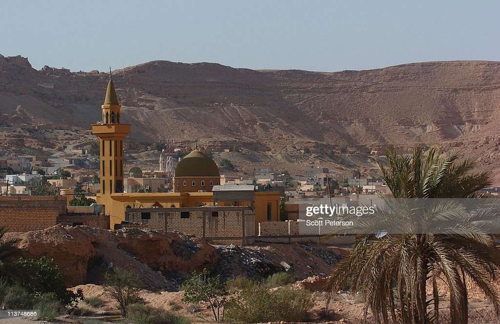 A view of the town is seen on May 3, 2011 in Wazin, Libya. Wazin, on the border with Tunisia, has seen many of its resident flee due to fighting between anti-regime rebels and pro-Ghaddafi forces in recent weeks.