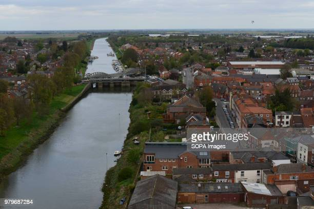 A view of the town of Boston and the river Witham in Lincolnshire The Lincolnshire town recorded the highest leave vote in the 2016 referendum with...