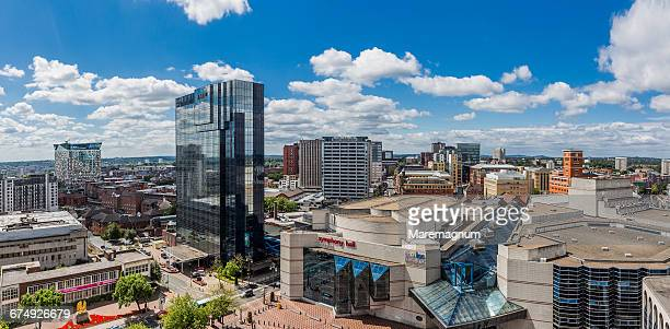 view of the town - birmingham england stock pictures, royalty-free photos & images