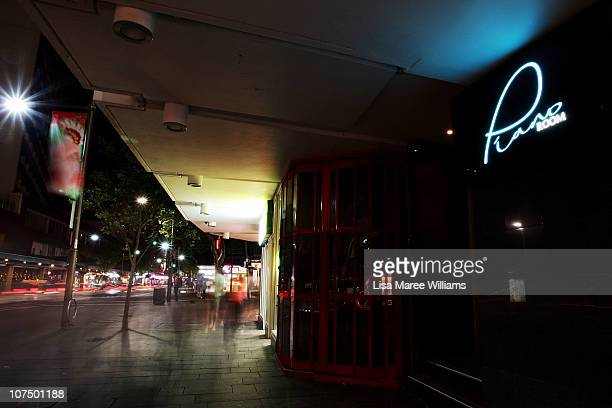 View of the Trademark Hotel and Piano Room situated in Kings Cross on December 9, 2010 in Sydney, Australia.