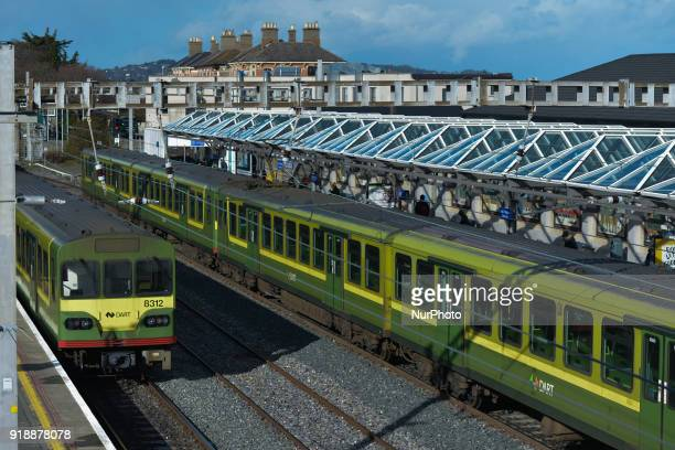 A view of the train station in Bray On Thursday February 15 Dublin Ireland