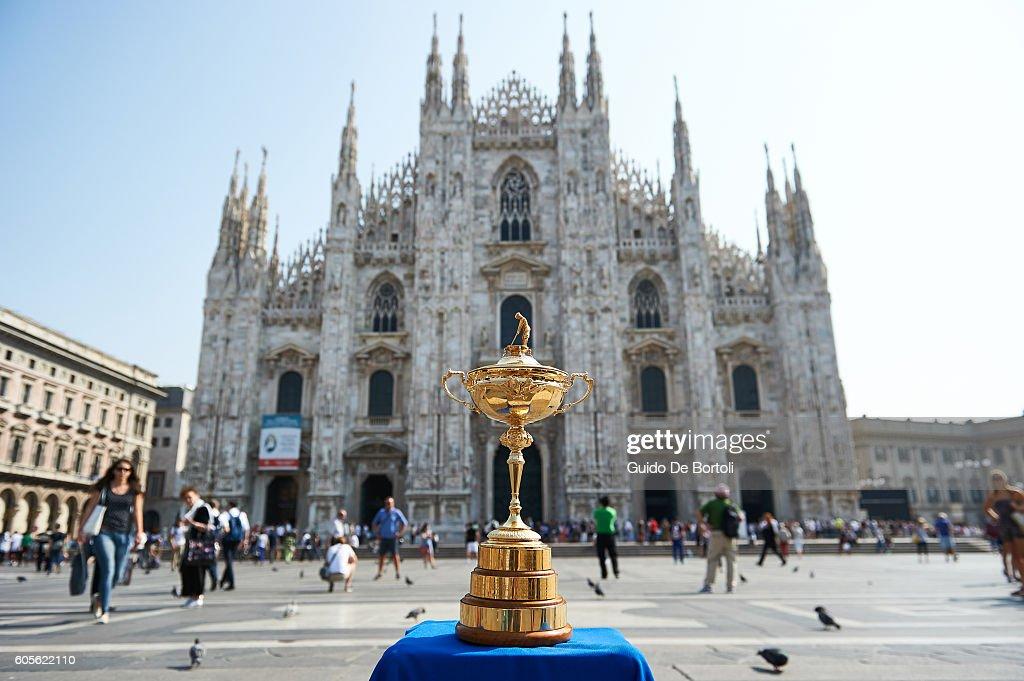 Ryder Cup Trophy Tour - Milan : News Photo