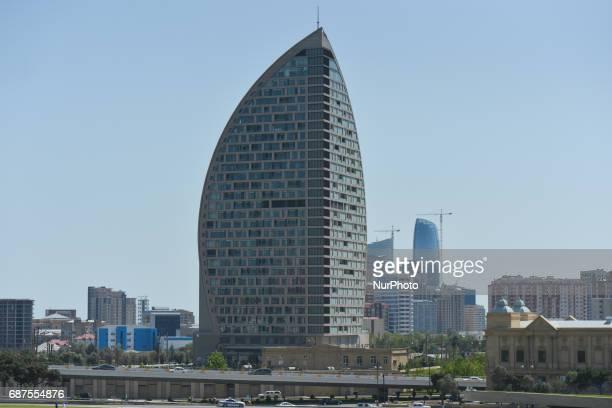 A view of the Trump Tower in Baku On Monday May 22 2017 in Baku Azerbaijan