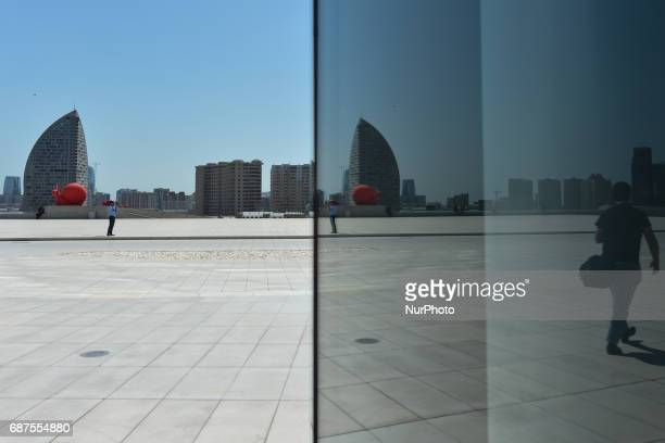 A view of the Trump Tower in Baku On Monday May 22 2017 in Baku Azerbaijan