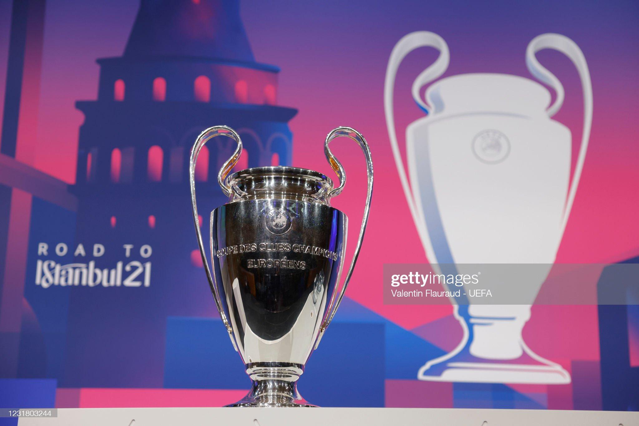 UEFA Champions League 2020/21 Quarter-finals And Semi-Finals Draw : News Photo