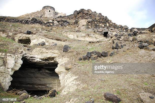 A view of the underground city newly discovered in Turkey's Central Anatolian province of Nevsehir which is famous for fairy chimney rock formations...
