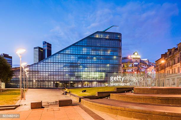 view of the urbis - courtyard stock pictures, royalty-free photos & images
