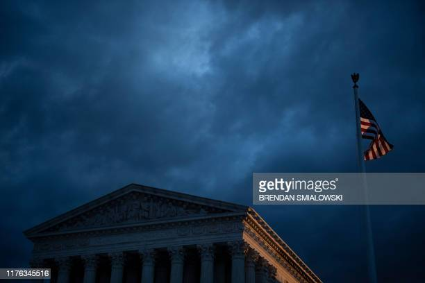 A view of the US Supreme Court October 17 in Washington DC