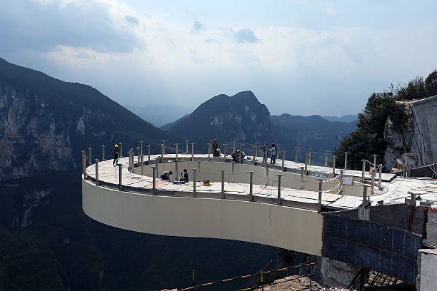 Worlds Longest Skywalk To Open In China Pictures Getty Images - China opens worlds longest skywalk