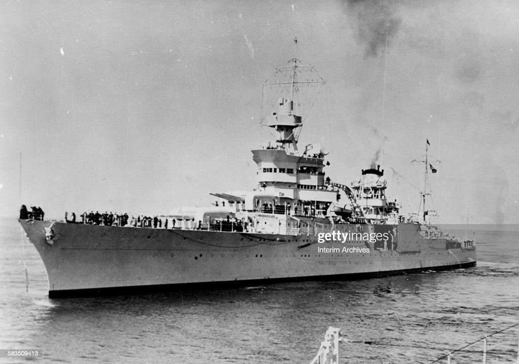 USS Indianapolis : News Photo