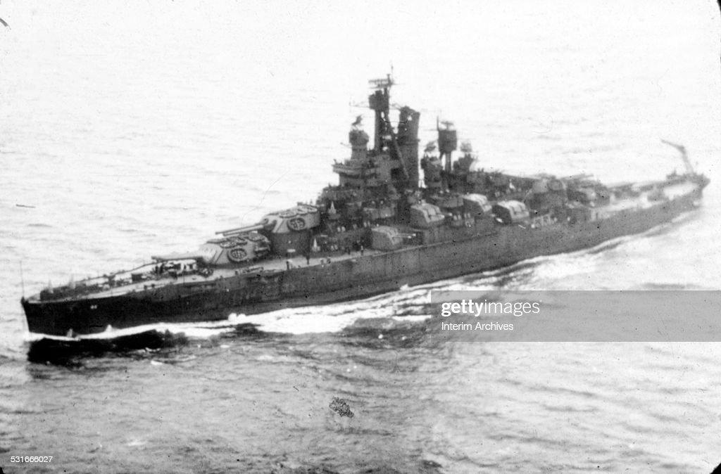 USS Nevada : News Photo
