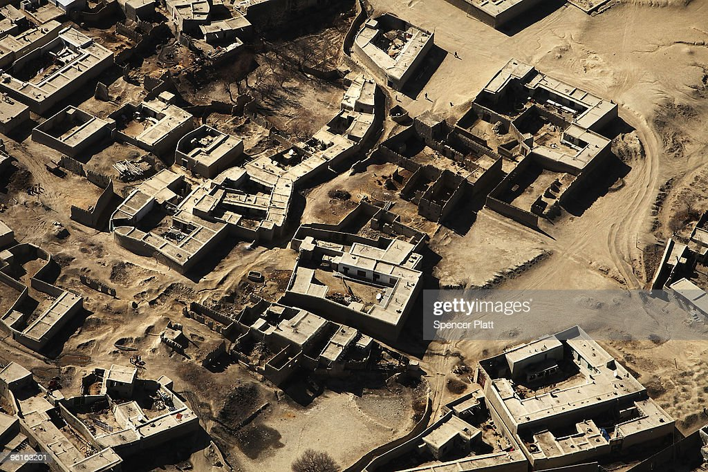 Aerial Views Of Afghanistan : News Photo